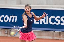 Julia Goerges (Germany) at the 2017 WTA Ericsson Open in Båstad, SWEDEN, July 25, 2017. Photo Credit: Katja Boll/EVENTMEDIA.