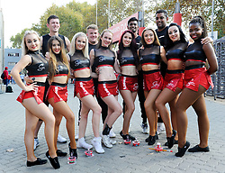10/03/2018 Felions cheerleaders and dancers at the game. Gauteng Lions vs the Auckland Blues at Emirates Airlines Stadium, Ellis Park, Johannesburg, South Africa. Picture: Karen Sandison/African News Agency (ANA)