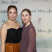NLD/Amsterdam/20191217 - Premiere April, May en June, Sarah Chronis en Sigrid ten Napel