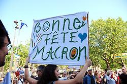 May 6, 2018 - Paris | Paris, France | France - The party in Macron | La fête à Macron à Paris le 5 Mai 2018 06/05/2018 (Credit Image: © GéRard Houin/Belga via ZUMA Press)