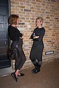 KATIE DOUBLEDAY; MAYA BINKIN, VIP opening  of the new Serpentine Sackler Gallery designed by Zaha Hadid . Kensinton Gdns. London. 25 September 2013