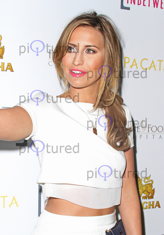 Fearne McCann, Pacata - Launch Party, Covent Garden, London UK, 28 March 2014, Photo by Brett D. Cove