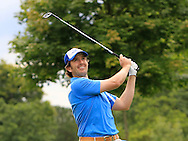 Richard Kilpatrick (NIR) on the 15th fairway during Round 2 of the Northern Ireland Open in Association with Sphere Global & Ulster Bank at Galgorm Castle Golf Club on Friday 7th August 2015.<br /> Picture:  Thos Caffrey / www.golffile.ie