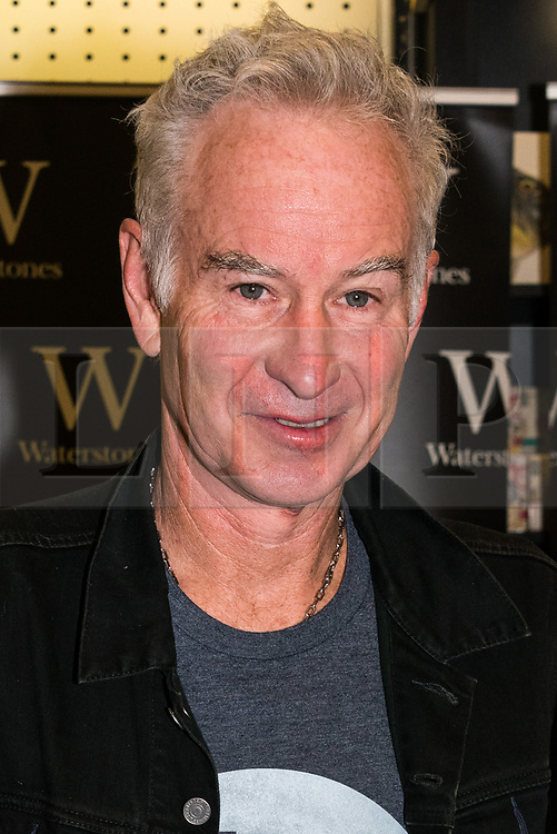 © Licensed to London News Pictures. 30/06/2017. London, UK. Tennis legend John McEnroe at his 'But Seriously' autobiography book signing at Waterstone's book store Photo credit: Ray Tang/LNP