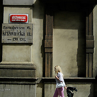 Street scene - Prague, Czech Republic.