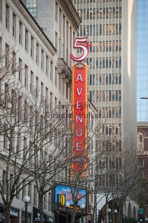 2017 DECEMBER 12 - 5th Avenue Theatre, downtown Seattle, WA, USA. By Richard Walker