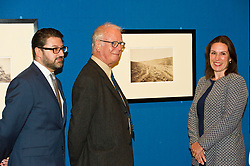 Pictured: Alessandro Nesini, Assistant curator of photography Royal Collection Trust, Roger Taylor, Photographic historian and Sophie Gordon, Head of photography, Royal Collection Trust<br /> Haunting images that brought the reality of war into the consciousness of the public and royal family for the first time are on display in a new exhibition opening at The Queen's Gallery, Palace of Holyroodhouse on Friday 4 August, whic explores the pioneering photographer's powerful images and their legacy. <br /> Ger Harley | EEm 3 August  2017