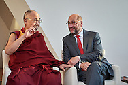 HHDL with Mr. Martin Schulz, president of the European Parliament