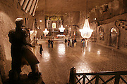 Wieliczka, Poland. Salt Mine Chapel of the Blessed Kinga (near Krakow).