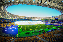 Stadium prior to the UEFA Champions League final football match between Liverpool and Real Madrid at the Olympic Stadium in Kiev, Ukraine on May 26, 2018.Photo by Sandi Fiser / Sportida