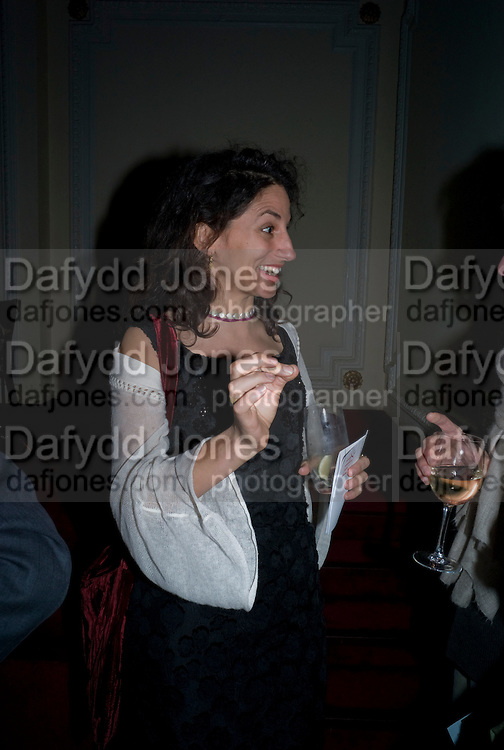 JASMINE DELLAL, David Tang and Nick Broomfield host  a reception and screening of Ghosts. On the Fifth anniversary of the Morecambe Bay Tragedy to  benefit the Morecambe Bay Children's Fund. The Electric Cinema. Portobello Rd. London W11. 5 February 2009 *** Local Caption *** -DO NOT ARCHIVE -Copyright Photograph by Dafydd Jones. 248 Clapham Rd. London SW9 0PZ. Tel 0207 820 0771. www.dafjones.com<br /> JASMINE DELLAL, David Tang and Nick Broomfield host  a reception and screening of Ghosts. On the Fifth anniversary of the Morecambe Bay Tragedy to  benefit the Morecambe Bay Children's Fund. The Electric Cinema. Portobello Rd. London W11. 5 February 2009