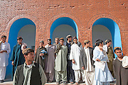 Mcc0021206 . Sunday Telegraph..Students in the main school in Na e Ali, Helmand province, Afghanistan. the teachers are still regularly intimidated by the Taliban and woudn't allow a photographer into a classroom..Helmand , 15 March  2010