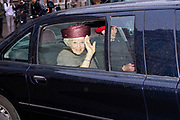 Prinses Beatrix  bij een symposium ter gelegenheid van Koninkrijksdag bij de Raad van State in Den Haag. Het symposium staat in het teken van 65 jaar Statuut voor het Koninkrijk.<br /> <br /> Princess Beatrix at a symposium on the occasion of Kingdom Day at the Council of State in The Hague. The symposium is dedicated to 65 years of Statute for the Kingdom.