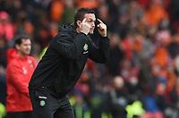 15/03/15 SCOTTISH LEAGUE CUP FINAL<br /> DUNDEE UTD v CELTIC<br /> HAMPDEN - GLASGOW<br /> Celtic manager Ronny Deila