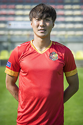 September 26, 2017 - Tubize, BELGIUM - Tubize's Wook Ki Hwang poses for photographer at another session after the 2017-2018 season photo shoot of Belgian 1B league soccer team Tubize, Tuesday 26 September 2017 in Tubize. BELGA PHOTO LAURIE DIEFFEMBACQ (Credit Image: © Laurie Dieffembacq/Belga via ZUMA Press)