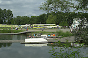 2002 FISA World Cup. Hazewinkel. BEL.       Friday  14/06/2002     .email images@Intersport-images.com.[Mandatory Credit: Peter Spurrier/Intersport Images]  .                                 /06/2002.Rowing    .Friday boating and trade area Rowing, FISA WC.Hazenwinkel, BEL
