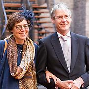 NLD/Den Haag/20180918 - Prinsjesdag 2018, Arie Slob en partner