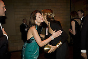 CORINNE FLICK AND  LADY FORSYTHE, Cartier Dinner to celebrate the re-opening of the Cartier U.K. flagship store, New Bond St. Natural History Museum. 17 October 2007. -DO NOT ARCHIVE-© Copyright Photograph by Dafydd Jones. 248 Clapham Rd. London SW9 0PZ. Tel 0207 820 0771. www.dafjones.com.