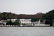 Thursday 14th August 2014: View of the Brunton Boatyard Hotel from the waterside.