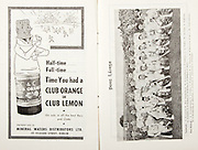 All Ireland Senior Hurling Championship Final,.01.09.1957, 09.01.1957, 1st September 1957,.Minor Kilkenny v Tipperary, .Senior Kilkenny v Waterford, Kilkenny 4-10.Waterford 3-12,..Advertisement, Club Orange, Club Lemon, Mineral Waters Distributors Ltd.,..Waterford,