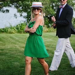 A destination wedding at a private estate in Cape Cod, Massachusetts.