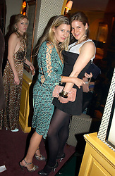 Left to right, SARA BUYS fiance of Tom Parker Bowles and KATE SUMNER daughter of Sting at a private dinner and presentation of Issa's Autumn-Winter 2005-2006 collection held at Annabel's, 44 Berkeley Square, London on 15th March 2005.<br /><br />NON EXCLUSIVE - WORLD RIGHTS