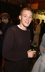 ALEXANDER FLICK son of 'Mick Flick' at an opening party for artist Paul McCarthy's exhibition 'LaLa Land Parody Paradise' held at the Whitechapel Gallery, 80-82 Whitechapel High Street, London E1 on 22nd October 2005.<br /><br />NON EXCLUSIVE - WORLD RIGHTS