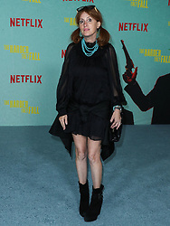 Businessperson Michelle Silverman arrives at the Los Angeles Premiere Of Netflix's 'The Harder They Fall' held at the Shrine Auditorium and Expo Hall on October 13, 2021 in Los Angeles, California, United States. Photo by Xavier Collin/Image Press Agency/ABACAPRESS.COM