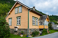 Norway, Fykse. House.