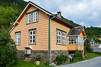 Norway, Fykse. House.
