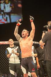 Stevie Ray (SCO) beats Leonadro Mafra (BRA bald,)UFC Glasgow on Saturday, July 18 at The Hydro.