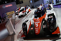 """November 7, 2018 - SãO Paulo, Brazil - SÃO PAULO, SP - 07.11.2018: SALÃO INTERNACIONAL DO AUTOMÃ""""VEL SP 2018 - The International Automobile Show of São Paulo, the largest exhibition of the automotive industry in Brazil and one of the largest in Latin America, begins this Thursday (08) at the São Paulo Expo, in the south zone of the city of São Paulo. The event takes place every two years in the city of São Paulo, with the aim of showing the latest developments in the automotive world, exposing cars, equipment and accessories. (Credit Image: © Aloisio Mauricio/Fotoarena via ZUMA Press)"""
