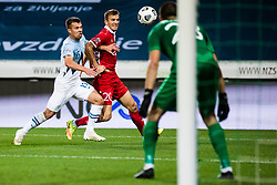 Damjan Bohar of Slovenia during the UEFA Nations League C Group 3 match between Slovenia and Moldova at Stadion Stozice, on September 6th, 2020. Photo by Grega Valancic / Sportida