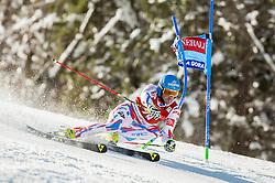 Steve Missillier (FRA) competes during 9th Men's Giant Slalom race of FIS Alpine Ski World Cup 55th Vitranc Cup 2016, on March 4, 2016 in Kranjska Gora, Slovenia. Photo by Vid Ponikvar / Sportida