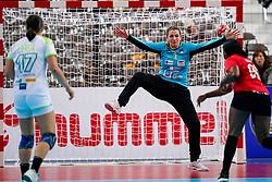 03-12-2019 JAP: Slovenia - Angola, Kumamoto<br /> Third match 24th IHF Women's Handball World Championship, Slovenia loss the third match against Angola with 24 - 33. / Branka Zec #1 of Slovenia