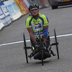 18-06-2017: Wielrennen: NK Paracycling: Montferlands-Heerenberg (NED) wielrennen  <br />Petra Garnier (Enschede)