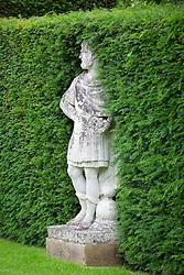 The Statue Walk at Cottesbrooke Hall