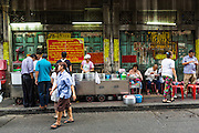 18 SEPTEMBER 2013 - BANGKOK, THAILAND:  A curry stand in the Chinatown section of Bangkok. Thailand in general, and Bangkok in particular, has a vibrant tradition of street food and eating on the run. In recent years, Bangkok's street food has become something of an international landmark and is being written about in glossy travel magazines and in the pages of the New York Times.     PHOTO BY JACK KURTZ