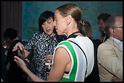 ALICE RAWSTHORN; TIPHAINE DE LUSSY, Drinks party to launch this year's Frieze Masters.Hosted by Charles Saumarez Smith and Victoria Siddall<br />  Academicians' room - The Keepers House. Royal Academy. Piccadilly. London. 3 July 2014