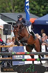 Klompmaker Hester (NED) - Biscayo<br /> KWPN Paardendagen Ermelo 2010<br /> © Dirk Caremans