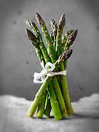 Bunch of fresh asparagus spears