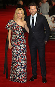 October 28, 2015 -Sienna Miller and Bradley Cooper attending 'Burnt' European Premiere at Vue West End, Leicester Square in London, UK.<br /> ©Exclusivepix Media