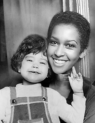 Marsha Hunt, with her daughter Karis Hunt Jagger, the daughter of Rolling Stones' Mick Jagger