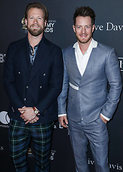 The Recording Academy And Clive Davis' 2019 Pre-GRAMMY Gala held at The Beverly Hilton Hotel on February 9, 2019 in Beverly Hills, Los Angeles, California, United States. 09 Feb 2019 Pictured: Brian Kelley, Tyler Hubbard, Florida Georgia Line. Photo credit: Xavier Collin/Image Press Agency / MEGA TheMegaAgency.com +1 888 505 6342
