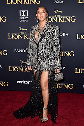 """Beyoncé attends the world premiere of Disney's """"The Lion King"""" at Dolby Theatre on July 9th, 2019 in Los Angeles, CA, USA. Photo by Lionel Hahn/ABACAPRESS.COM"""