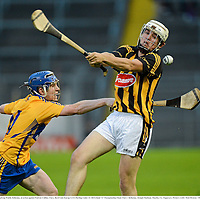 15 September 2012; Padraig Walsh, Kilkenny, in action against Padraic Collins, Clare. Bord Gáis Energy GAA Hurling Under 21 All-Ireland 'A' Championship Final, Clare v Kilkenny, Semple Stadium, Thurles, Co. Tipperary. Picture credit: Matt Browne / SPORTSFILE