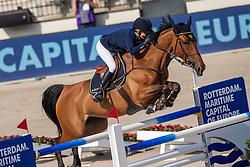 Ducoffre Jenny<br /> European Championship Jumping<br /> Rotterdam 2019<br /> © Hippo Foto - Dirk Caremans