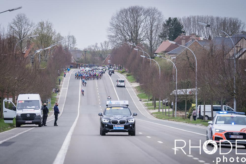 peloton <br /> <br /> 18th Ronde van Vlaanderen 2021<br /> Elite Womens Race (1.WWT)<br /> <br /> One Day Race from Oudenaarde to Oudenaarde 152km<br /> <br /> ©RhodePhoto