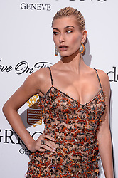 Hailey Baldwin attending the de Grisogono party ahead the 70th Cannes Film Festival, at Eden Roc Hotel in Antibes, France on May 23, 2017. Photo Julien Reynaud/APS-Medias/ABACAPRESS.COM