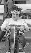 Kingston on Thames, United Kingdom. Miriam BATTEN, competing in the Ergo compitation at the final Round of the Leyland Daf Sprint series, Kingston RC on the River Thames, Surrey, England, <br /> <br /> Saturday 04.05.1987<br /> <br /> [Mandatory Credit; Peter Spurrier/Intersport-images],      1987 Leyland Daf Sprints, Kingston. UK
